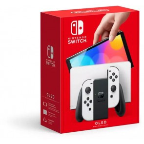 Nintendo Switch Console - OLED-model - Wit